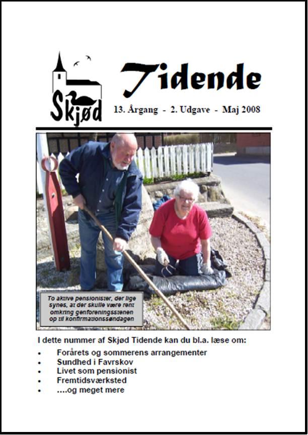 Tidende-Aargang-13-Udgave-2-Maj-2008