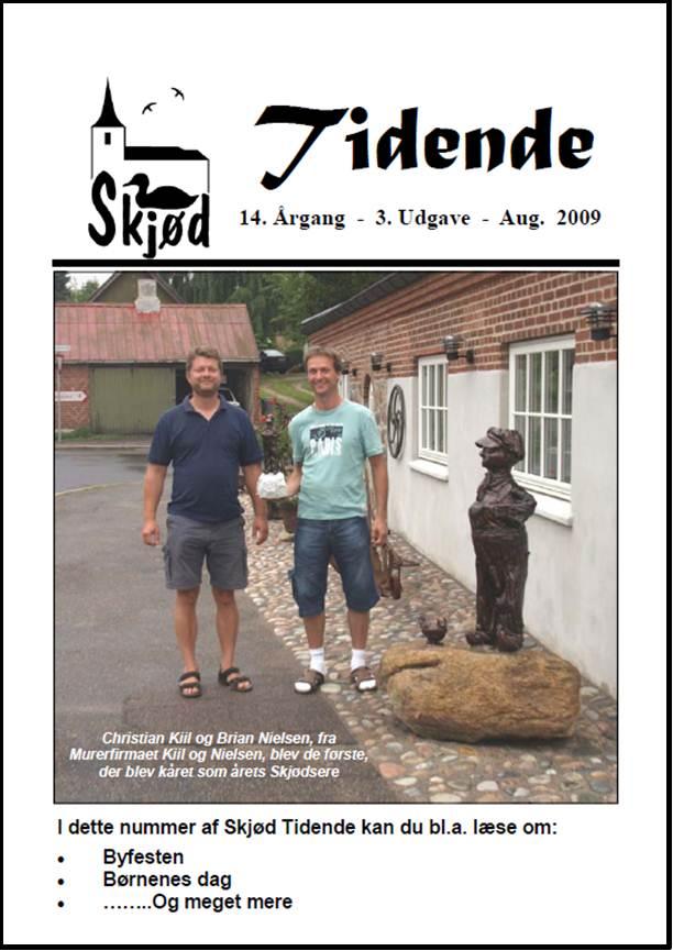 Tidende-Aargang-14-Udgave-3-Aug-2009